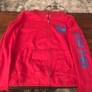 PINK Victoria's Secret NY Giants hoodie